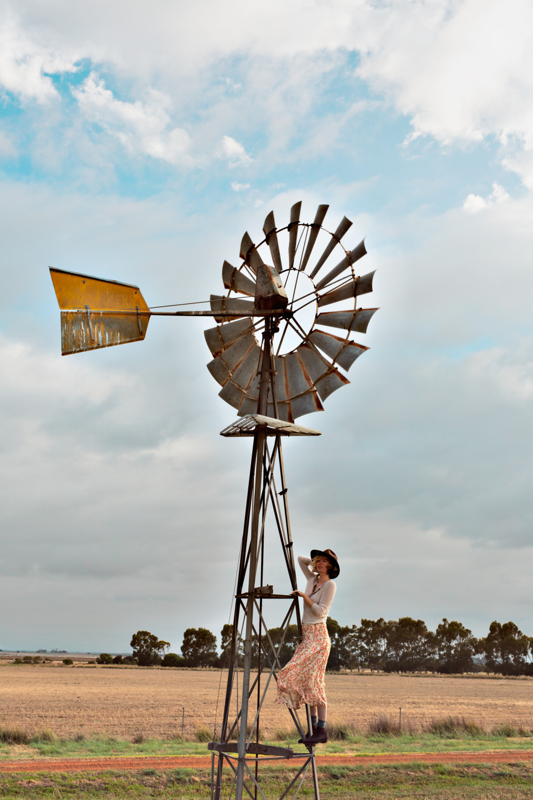 Vintage-farm-editorial-australia-blogger-shoot